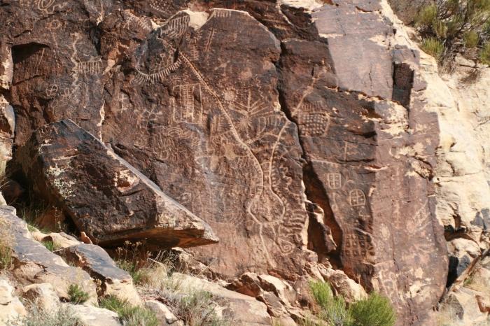 Parowan Gap Petroglyphs, Utah | Adventure Bucket List | Parks100