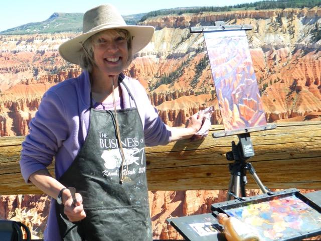 Chasing Light in Southern Utah: Plein Air Festival Valerie Orlemann | Parks100