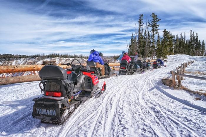 Cedar Breaks National Monument Snowmoblie, Utah | Parks100