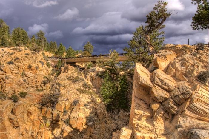 Hell's Backbone Bridge, Wiki   Utah   Parks100