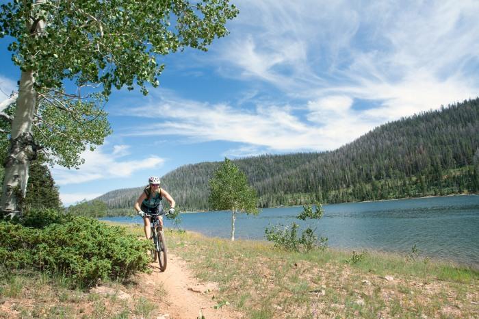 Navajo Lake Trail, Dixie National Forest, Utah   Parks100